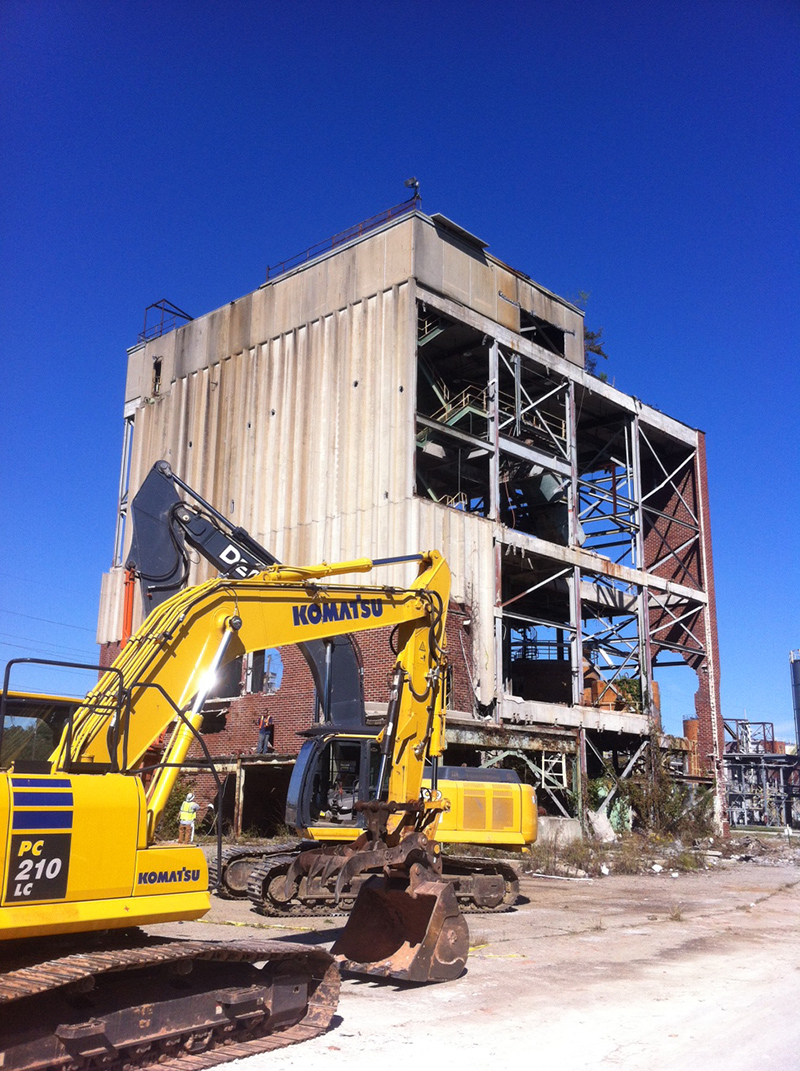 Hibernia Demolition